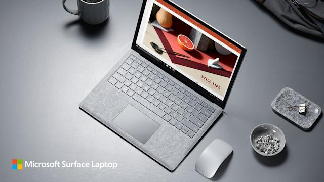 Microsoft Surface Laptop Platinum