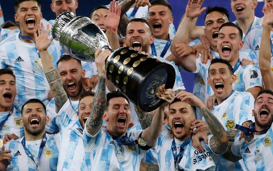 Lionel Messi leads Argentina to Copa del Rey glory - AP