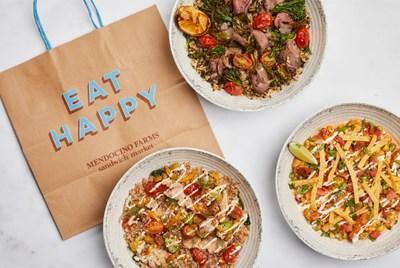Mendocino Farms is bringing a new culinary adventure to guests with its three new grain bowls: Chimichurri Steak & Shishito Bowl, Smoky Chicken Elote Bowl and Mediterranean Chicken Bowl.