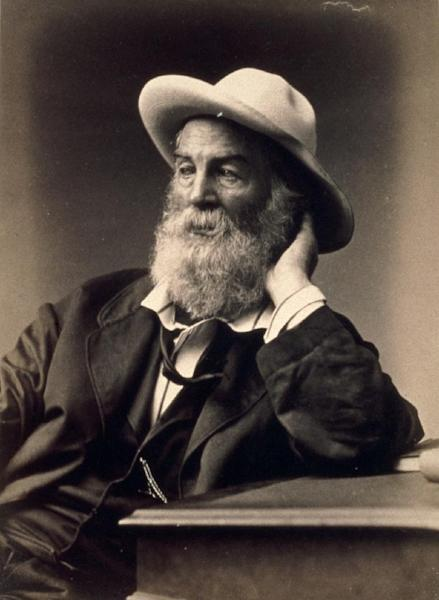 "This handout photo provided by the National Portrait Gallery shows Walt Whitman, by G. Frank E. Pearsall. America often knows the names but not the faces of its great poets. Now the Smithsonian's National Portrait Gallery is introducing dozens of 20th century poets to Washington visitors. ""Poetic Likeness: Modern American Poets"" opens Friday and will be on view through April. (AP Photo/G. Frank E. Pearsall, National Portrait Gallery)"