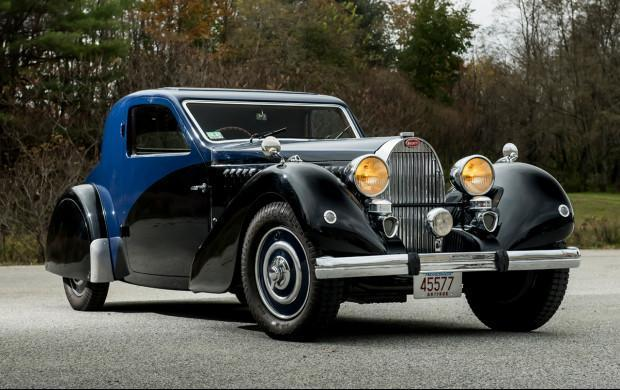 Rare Bugatti Type 57 Is One Of Just Six Ever Made