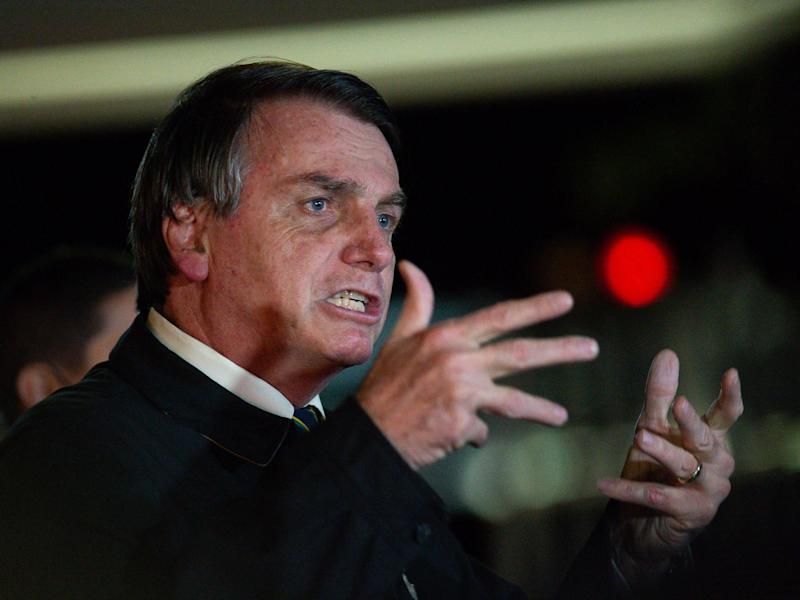 More than 100,000 leading Brazilian politicians, public figures and organisations have backed a manifesto calling for united opposition to Jair Bolsonaro: Getty Images