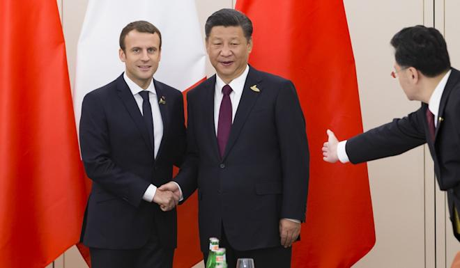 Emmanuel Macron Tours Ancient Sites during Official Visit to China