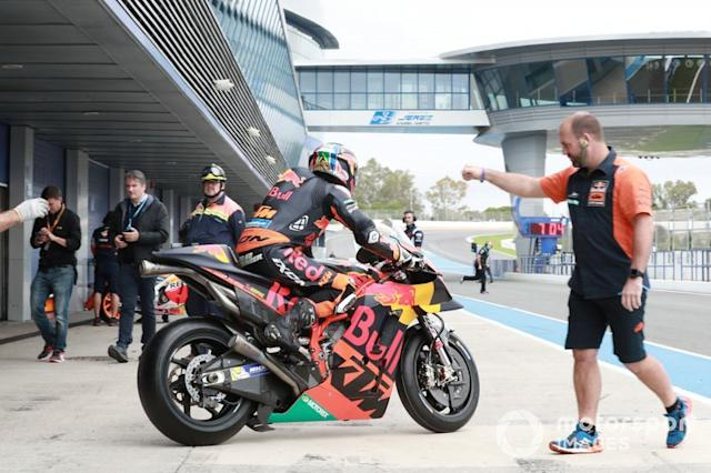 "Brad Binder, Red Bull KTM Factory Racing <span class=""copyright"">Gold and Goose / Motorsport Images</span>"
