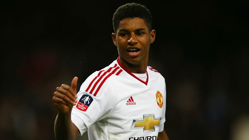 official photos 2e2ab 8b846 Rashford: I can be Manchester United's number 10