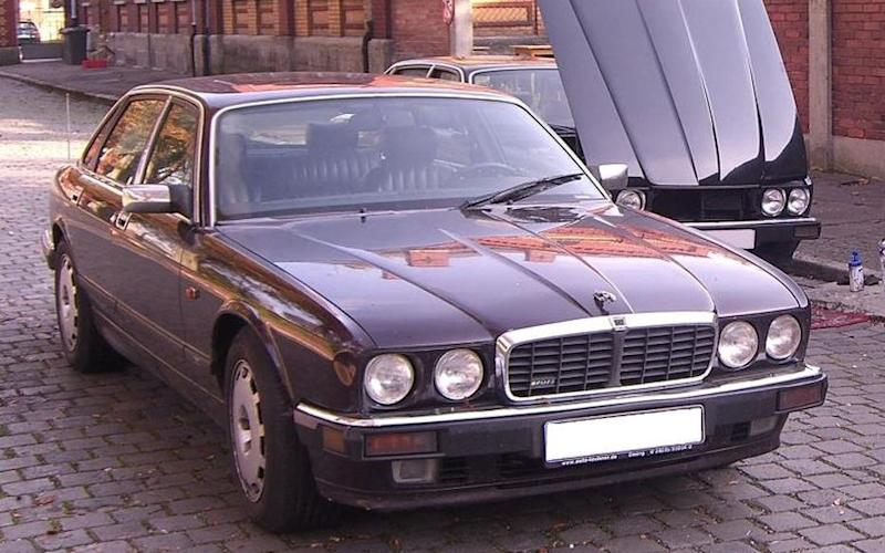 The Jaguar linked to the prime suspect