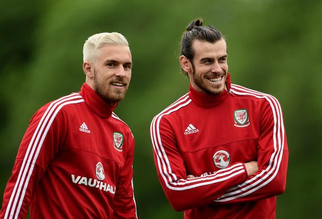 Key men Aaron Ramsey (left) and Gareth Bale are available for Wales this week (Joe Giddens/PA)