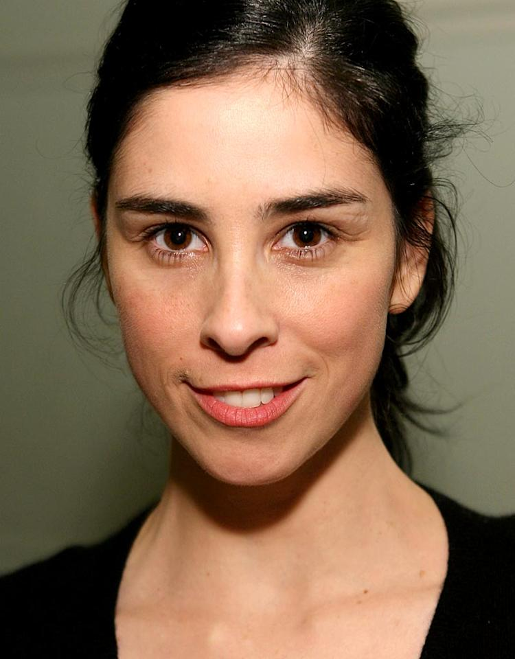 """Sarah Silverman, the caustic comedienne best known for dissing Britney at the MTV Video Music Awards, took her act to new heights in '07 thanks to the tremendous success of her hit sitcom, """"The Sarah Silverman Program,"""" which happened to score the highest premiere ratings in three years for Comedy Central. Jesse Grant/<a href=""""http://www.wireimage.com"""" target=""""new"""">WireImage.com</a> - February 22, 2007"""