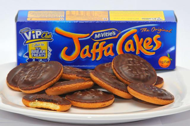 File photo dated 19/11/10 of a general view of a plate of Jaffa Cakes as McVitie's and Jaffa Cakes maker United Biscuits is to be swallowed up by Turkish food conglomerate Yildiz Holdings in a deal believed to be worth �2 billion, it was announced today. PRESS ASSOCIATION Photo. Issue date: Monday November 3, 2014. Yildiz was reported to have prevailed against rival bids from Burton's and America's Kellogg's. It said the deal, under which existing management at United would remain in place, would form the world's third largest biscuit maker. See PA story CITY Biscuits. Photo credit should read: Clive Gee/PA Wire