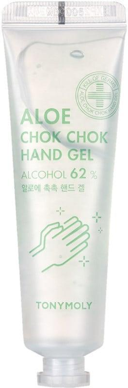 <p>Grab a couple of these <span>Tonymoly Aloe Chok Chok 62% Alcohol Hand Sanitizing Gels</span> ($4).</p>