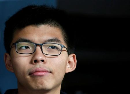 Joshua Wong, Hong Kong activist in Umbrella Motion protests, imprisoned three months
