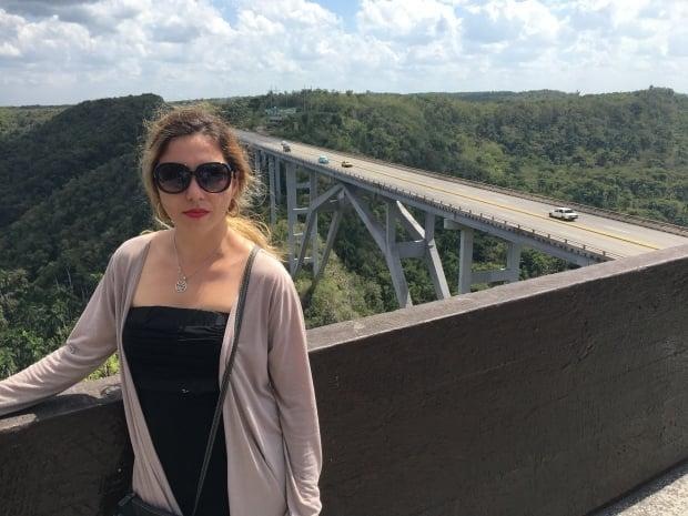 Daylen Garcia Lopez has been in Cuba waiting for her visitor visa application to be approved for nearly a year. She's been told the delays are related to COVID-19.
