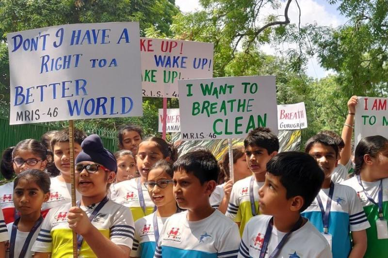 Fridays for Future: How Students From Across India Protested Against Climate Change Today