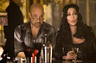<p>The actor thrives in roles where he plays the mentor. In <em>Burlesque</em>, Tucci shows new girl Ali (played by Christina Aguilera) how things are done in the burlesque club — which is owned by none other than Cher. </p> <p>Name a more iconic duo, we'll wait. </p>