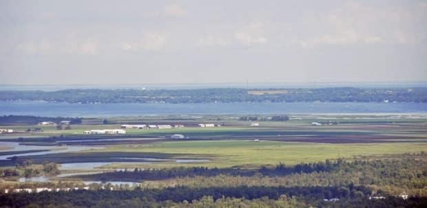 A view of the Holland Marsh near part of the proposed route for a yet-to-be built Ontario highway.