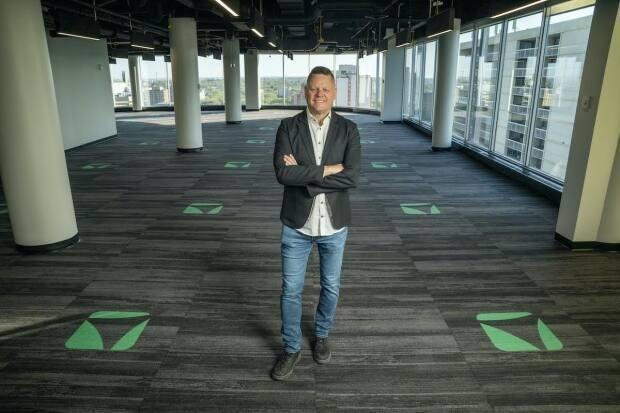 Vendasta CEO Brendan King says the company plans to hire up to 150 employees in the coming year. (Vendasta - image credit)