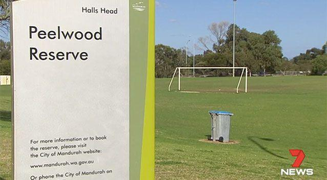 A teenage girl was indecently assaulted at this park in Erskine. Source: 7 News