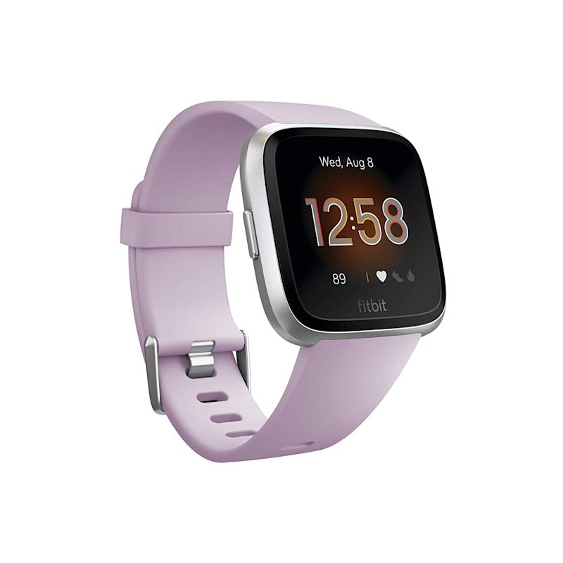 Fitbit Versa Lite Smartwatch. Image via Amazon.