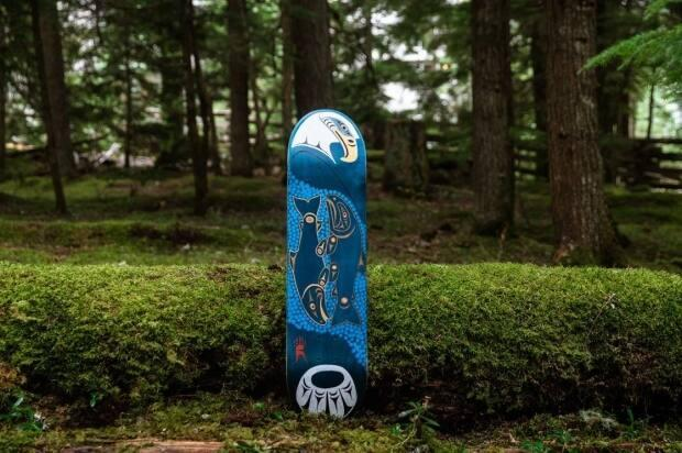 The Indigenous Life Sport Academy says the proceeds from the skateboard auction will go toward helping Indigenous youth in B.C. maintain their well-being through year-round sporting opportunities.