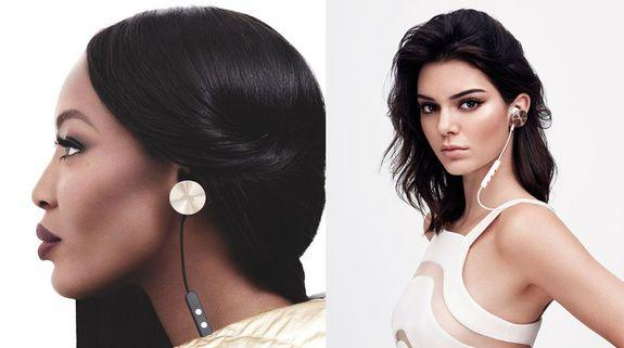 Naomi Campbell (left), Kendall Jenner (right).