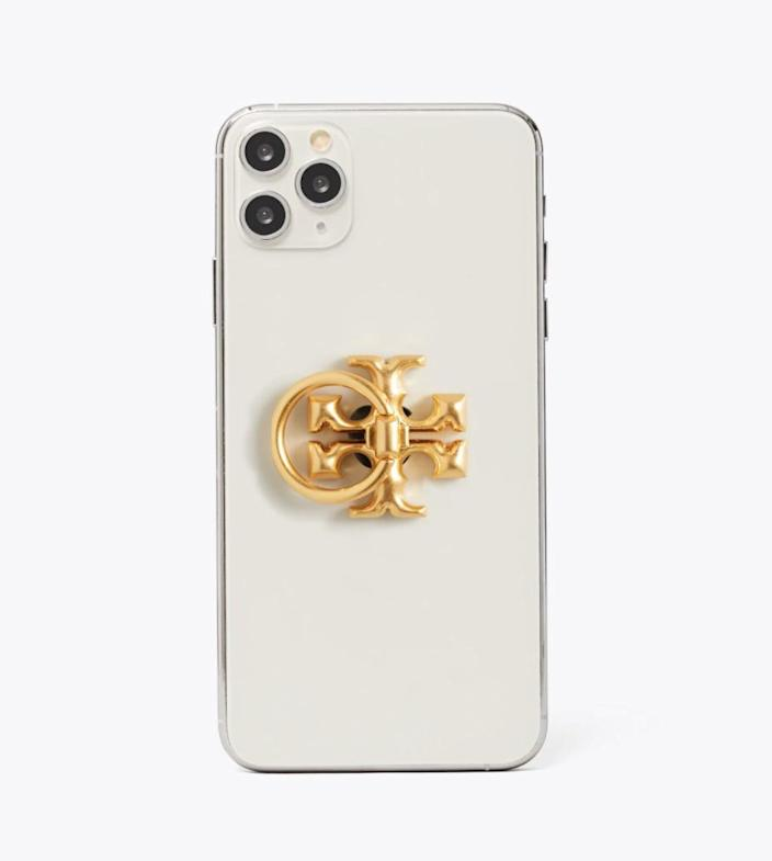 <p>The <span>Tory Burch Kira Phone Ring</span> ($48) is adorable and functional at the very same time.</p>
