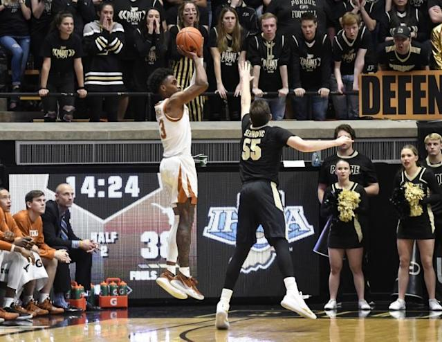 NCAA Basketball: Texas at Purdue