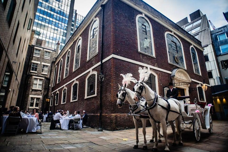 The UK's oldest synagogue has been saved for now (Bevis Marks)