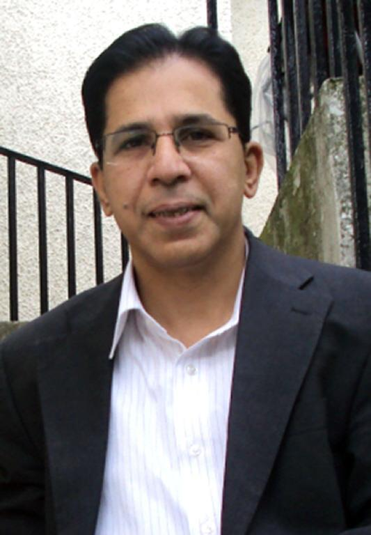 A handout picture received from the Metropolitan Police Service shows late Pakistani politician Imran Farooq, who was stabbed and beaten to death in Edgware on September 16, 2010