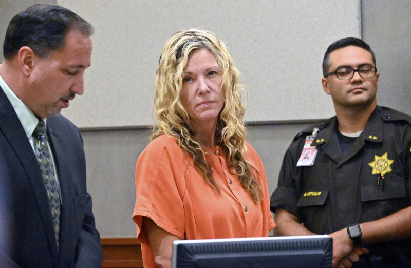 Video shows Lori Vallow's former husband telling police she 'lost her mind'
