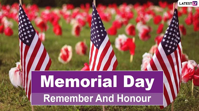 Memorial Day 2020 Date And Significance: Know History and Traditions of The Observance That Honours Military Personnel Who Died Serving The United States