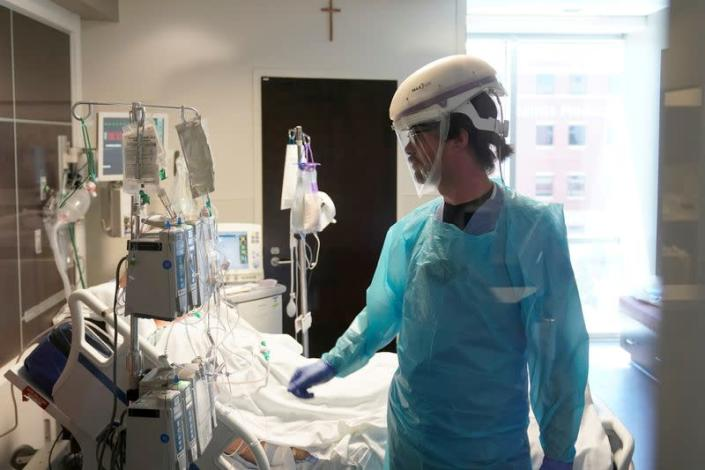 FILE PHOTO: Tour of SSM Health St. Anthony Hospital's ICU in Oklahoma City