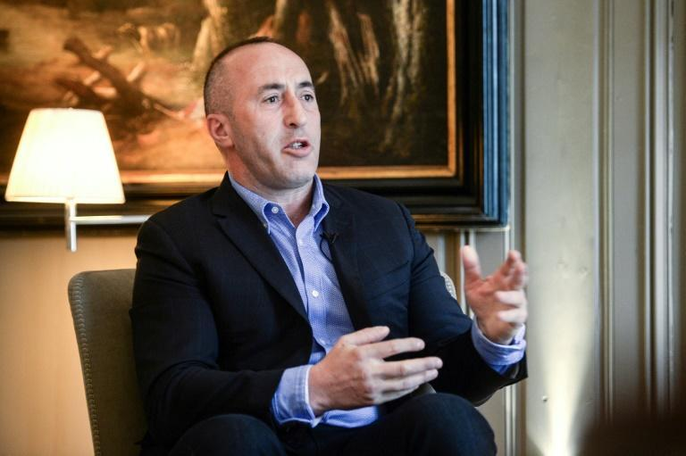 Former Kosovo prime minister Ramush Haradinaj says his detention in France, due to a decade-old arrest warrant, is hurting his chances in his country's legislative election