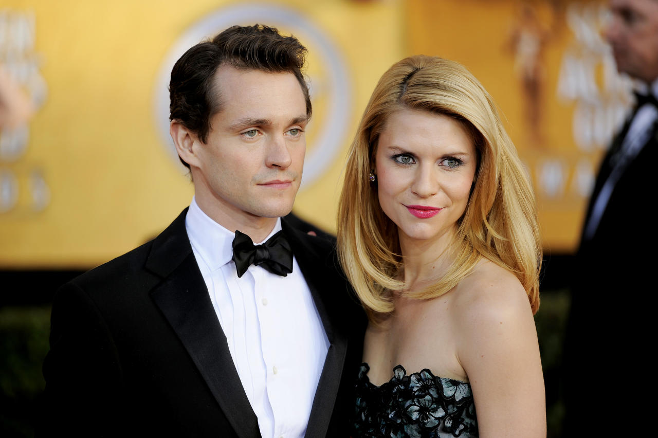Hugh Dancy, left, and Claire Danes arrive at the 17th Annual Screen Actors Guild Awards on Sunday, Jan. 30, 2011 in Los Angeles.
