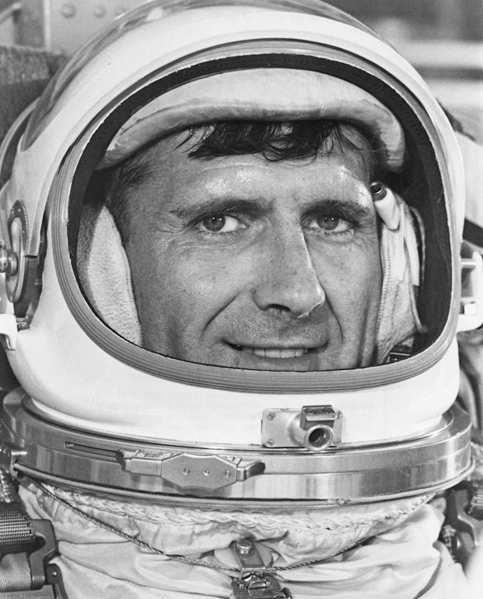 Former Apollo 12 astronaut Richard Gordon, 88, one of a dozen men who flew around the moon but didn't land there, died on November 6, 2017.