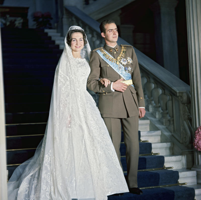 Wedding of Juan Carlos I of Spain to Sophia of Greece and Denmark. (Photo by Daniele Darolle/Sygma via Getty Images)