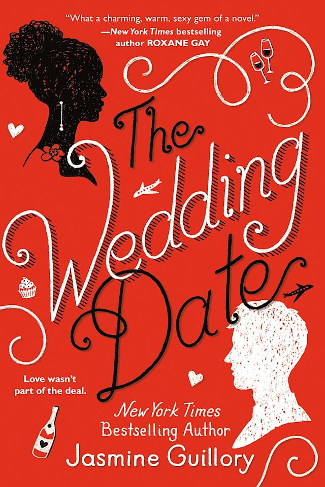 Girl meets boy in elevator during a power outage. Boy is desperate for a date to his ex's wedding. Girl agrees to go and they have an amazing time, only to return to their busy lives with lingering thoughts of what could be. If author Jasmine Guillory's premise isn't a perfect rom-com setup, we're not sure what is.