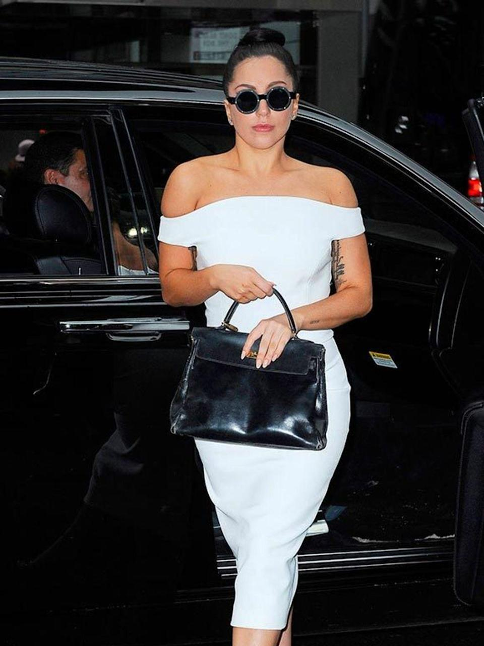 <p>Lady Gaga out and about in NY, December 2014.</p>