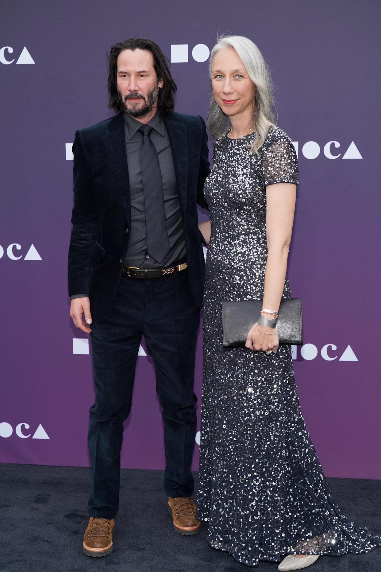 Keanu Reeves Steps Out Hand-in-Hand With Alexandra Grant ...  |Alexandra Grant