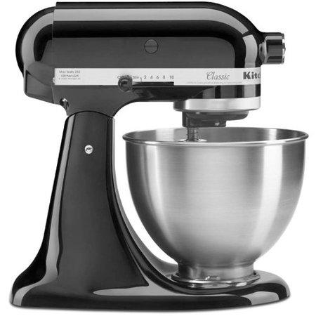 KitchenAid Classic Series Tilt-Head 4.5 Quart Onyx Black Stand Mixer. (Photo: Walmart)
