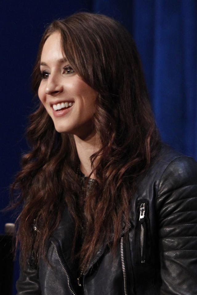 "Troian Bellisario attends The Paley Center For Media Presents An Evening With ""Pretty Little Liars"" at The Paley Center for Media on June 10, 2013 in Beverly Hills, California."