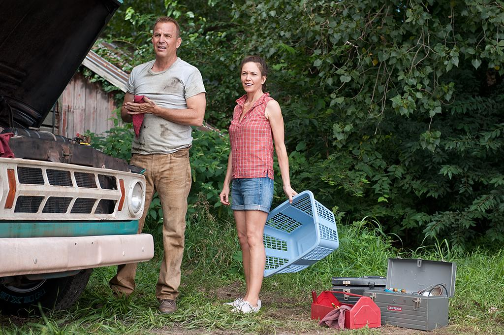 (L-r) KEVIN COSTNER as Jonathan Kent and DIANE LANE as MARTHA KENT in Warner Bros. Pictures? and Legendary Pictures? action adventure ?MAN OF STEEL,? a Warner Bros. Pictures release.