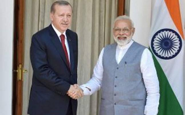 Terrorism is a shared worry for PM Modi and Turkish President Erdogan