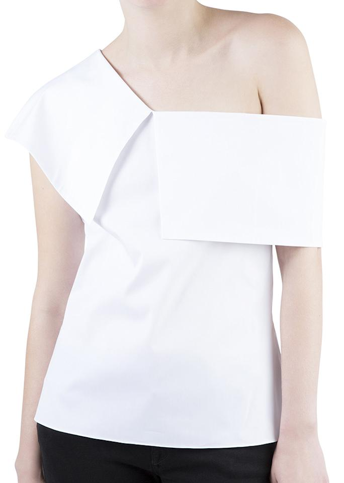 "Ammara Maud Top, $350; at <a rel=""nofollow"" href=""https://www.ammaranyc.com/collections/all/products/maud?variant=35310768451"" rel="""">Ammara</a>"
