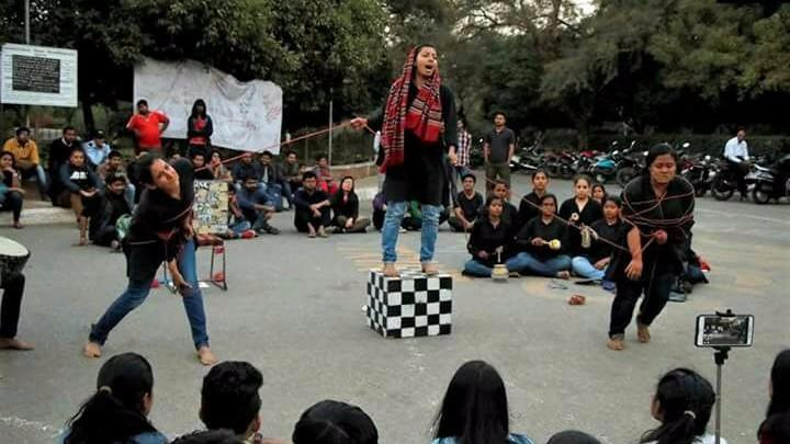 'We Won't Stop': Students Slam Ban on 4 Plays at Ramjas College