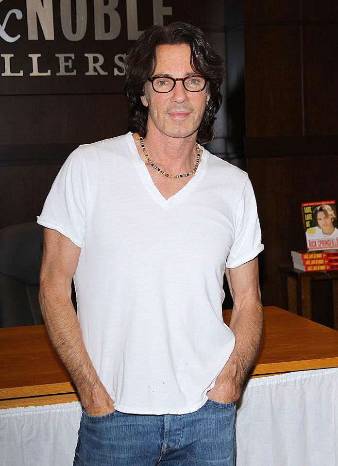 "Singer Rick Springfield turns 62. Michael Tran/<a href=""http://www.filmmagic.com/"" target=""new"">FilmMagic.com</a> - July 19, 2011"