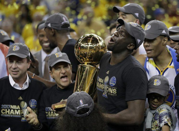 Keeping the Warriors together will be very, very expensive. (AP)