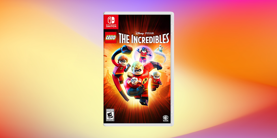 Save half on LEGO Disney Pixar's The Incredibles for Nintendo Switch. (Photo: Amazon)