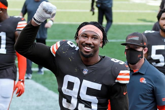 Early results: Browns, Garrett off to flying start in 2020