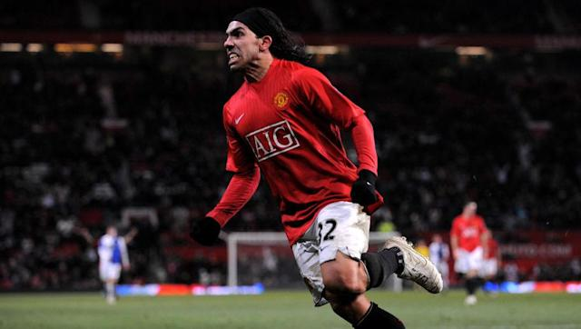 <p>Tevez was the third and final player to join the exclusive list in 2012.</p> <p>The Argentine moved to Old Trafford in 2007, after helping West Ham avoid relegation the year before.</p> <p>Tevez won the Premier League in each of his two years at United, before infamously joining the 'noisy neighbours'.</p> <p>The striker was just as controversial in the blue half of Manchester, and was brought back into the team in April 2012, after serving a club-enforced ban.</p> <p>Yet, Tevez's return helped galvanise City, who went on to oust United and win their first Premier League title.</p>
