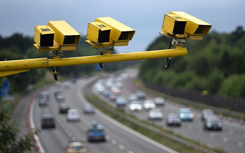 Average speed cameras - Credit: PA